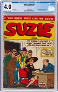 Golden Age (1938-1955):Humor, Suzie Comics #58 (Archie, 1947) CGC VG 4.0 Cream to off-white pages....