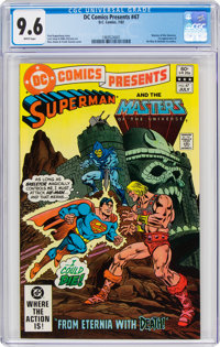 DC Comics Presents #47 Superman and the Masters of the Universe (DC, 1982) CGC NM+ 9.6 White pages