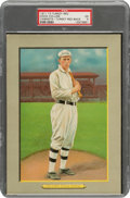 Baseball Cards:Singles (Pre-1930), 1910-11 T3 Turkey Red Eddie Collins (Ad Back) #87 PSA EX 5 - Pop Two, None Higher. ...