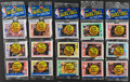 Basketball Cards:Unopened Packs/Display Boxes, 1989 Fleer Basketball Unopened Rack Pack Lot of 5.... (Total: 5 items)
