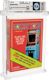 Donkey Kong [Early Production] Wata 7.0 NS Atari 2600 Coleco 1982