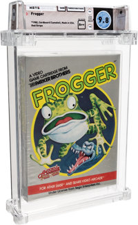 Frogger Wata 9.8 A++ Sealed Atari 2600 Parker Brothers 1982 USA