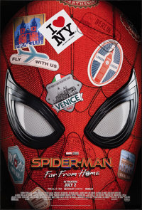 """Spider-Man: Far from Home (Sony, 2019). Rolled, Very Fine+. One Sheet (27"""" X 40"""") SS Advance. Action"""