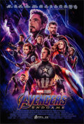 """Movie Posters:Action, Avengers: Endgame (Walt Disney Studios, 2019). Rolled, Very Fine/Near Mint. One Sheet (27"""" X 40"""") DS Advance. Action.. ..."""
