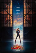 "Movie Posters:Action, Captain Marvel (Walt Disney Studios, 2019). Rolled, Very Fine-. One Sheet (27"" X 40"") DS Advance. Action.. ..."