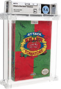 Video Games:Nintendo, Attack of the Killer Tomatoes Wata 7.5 B+ Sealed NES THQ 1992 USA....