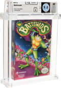 Video Games:Nintendo, Battletoads Wata 9.0 A Sealed NES Tradewest 1991 USA....
