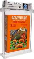 Video Games:Atari, Adventure [Atari, Inc.] Wata 7.0 NS Atari 2600 Atari 1980 USA....