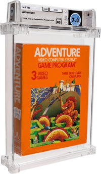 Adventure [Atari, Inc.] Wata 7.0 NS Atari 2600 Atari 1980 USA