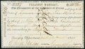Obsoletes By State:Texas, Washington(-on-the-Brazos), TX- Treasury Warrant $10.50 Mar. 25, 1845 Cr. W6 Medlar 8 Very Fine, pen cancelled.. ...