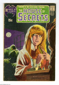 Bronze Age (1970-1979):Horror, House of Secrets #92 (DC, 1971) Condition: VG. First appearance ofSwamp Thing, cover and story. Classic cover. Bernie Wrigh...