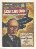 Golden Age (1938-1955):Non-Fiction, Jim Ray's Aviation Sketchbook #1 (Vital Publications, 1946)Condition: VG/FN. Picture stories about planes and pilots. Overs...