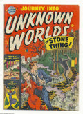 Silver Age (1956-1969):Horror, Journey Into Unknown Worlds #8 (Atlas, 1951) Condition: ApparentVG-. Joe Maneely cover and art. Small amount of glue at spi...
