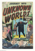 Golden Age (1938-1955):Horror, Journey Into Unknown Worlds #30 (Atlas, 1954) Condition: FN+. JoeManeely cover. Overstreet 2004 FN 6.0 value = $81; VF 8.0 ...