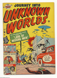 Journey Into Unknown Worlds 38 (#3) (Atlas, 1951) Condition: GD/VG. Science fiction. Dave Berg and George Tuska art. Ove...