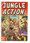 Jungle Action #2 (Marvel, 1954) Condition: FN-. 3-D effect cover by Joe Maneely. Maneely, John Romita Sr., George Tuska...