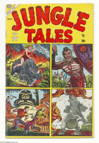 Jungle Tales #2 (Atlas, 1954) Condition: FN. John Romita Sr., George Tuska, Jay Scott Pike, and Joe Maneely art. Small p...
