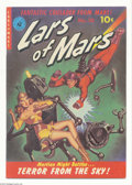 Golden Age (1938-1955):Science Fiction, Lars of Mars #10 (Ziff-Davis, 1951) Condition: Apparent FN/VF.Origin. Classic robot cover. Murphy Anderson art. Moderate am...