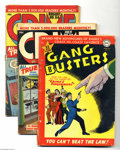 Golden Age (1938-1955):Crime, Miscellaneous Golden Age Crime Group (Various, 1947-57) Condition: Average GD+. This lot consists of Gang Busters #22 ... (Total: 21 Comic Books Item)