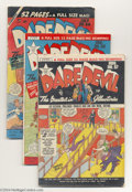 Golden Age (1938-1955):Miscellaneous, Miscellaneous Golden Age Group (Various, 1943-55) Condition: Average GD. This lot consists of Daredevil #57, 58, 64, 121... (Total: 15 Comic Books Item)