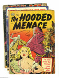 Golden Age (1938-1955):Horror, Miscellaneous Golden Age Sci-Fi/Horror Group (Various Pubishers,1946-59). This lot consists of The Hooded Menace #nn (G... (Total:7 Comic Books Item)