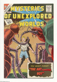 Mysteries of Unexplored Worlds #29 White Mountain pedigree (Charlton, 1963) Condition: NM-. Overstreet 2004 NM- 9.2 valu...