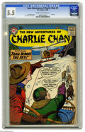 "Silver Age (1956-1969):Mystery, The New Adventures of Charlie Chan #6 (DC, 1959) CGC FN- 5.5 Creamto off-white pages. Last issue, deemed ""scarce"" by Overst..."