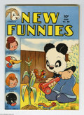 Golden Age (1938-1955):Funny Animal, New Funnies #88 (Dell, 1944) Condition: FN. Overstreet 2004 FN 6.0value = $33....