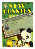 Golden Age (1938-1955):Funny Animal, New Funnies #89 (Dell, 1944) Condition: FN. Overstreet 2004 FN 6.0 value = $33....