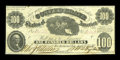 Confederate Notes:1861 Issues, T7 $100 1861 Cr. 11 PF-4.. ...