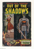 Golden Age (1938-1955):Horror, Out Of The Shadows #14 (Standard, 1954) Condition: VG-. Alex Tothart. Last issue of the title. Overstreet 2004 VG 4.0 value...