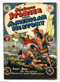 Golden Age (1938-1955):Non-Fiction, Picture Stories From American History #1 (EC, 1946) Condition: FN+.Overstreet 2004 FN 6.0 value = $93; VF 8.0 value = $178....