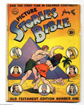 Golden Age (1938-1955):Religious, Picture Stories from the Bible - Old Testament 1 (DC, 1942)Condition: VG. Overstreet 2004 VG 4.0 value = $50. From theGr...