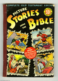 Picture Stories from the Bible - Complete Old Testament Edition (DC, 1943) Condition: VG-. First edition - 232 pages. Ov...