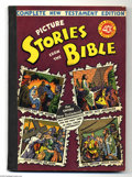Golden Age (1938-1955):Religious, Picture Stories from the Bible Complete New Testament Edition (EC,1945). First edition 40¢, 144 pages. Overstreet 2004 FN 6...