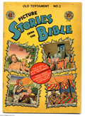 Golden Age (1938-1955):Religious, Picture Stories from the Bible - Old Testament 1 (EC, 1946)Condition: VG. Overstreet 2004 VG 4.0 value = $38. From theGr...