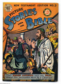 Golden Age (1938-1955):Religious, Picture Stories from the Bible - New Testament 3 (EC, 1946)Condition: GD/VG. Overstreet 2004 GD 2.0 value = $19; VG 4.0 val...