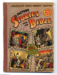 Picture Stories from the Bible - Complete Life of Christ (EC, 1945) Condition: GD+. Overstreet 2004 GD 2.0 value = $29...