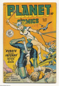 """Golden Age (1938-1955):Science Fiction, Planet Comics #54 (Fiction House, 1948) Condition: VG. The """"bigguns"""" of Fiction House contributed to this issue, with Matt ..."""