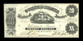 Confederate Notes:1861 Issues, T9 $20 1861. Cr. 31. ...
