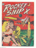 Golden Age (1938-1955):Science Fiction, Rocket Ship X #1 (Fox, 1951) Condition: VG. Overstreet 2004 VG 4.0value = $122....