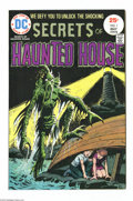 Bronze Age (1970-1979):Horror, Secrets of Haunted House #1 (DC, 1975) Condition: VF/NM. SergioAragones, Alex Nino art. Overstreet 2004 VF/NM 9.0 value = $...