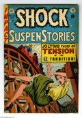 Golden Age (1938-1955):Horror, Shock SuspenStories #13 (EC, 1954) Condition: VG-. Featuring FrankFrazetta's only solo story for EC. The issue's other arti...