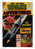 Silver Age (1956-1969):Science Fiction, Space Adventures #44 White Mountain pedigree (Charlton, 1962) Condition: NM-. First appearance of Mercury Man. Overstreet 20...