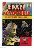 Silver Age (1956-1969):Science Fiction, Space Adventures #46 White Mountain pedigree (Charlton, 1962) Condition: NM-. Overstreet 2004 NM- 9.2 value = $55....