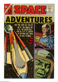 Space Adventures #50 White Mountain pedigree (Charlton, 1963) Condition: VF/NM. Overstreet 2004 VF/NM 9.0 value = $44; N...