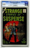 Silver Age (1956-1969):Horror, Strange Stories of Suspense #11 Bethlehem pedigree (Atlas, 1956)CGC VF 8.0 Cream to off-white pages. Bill Everett cover. Pe...