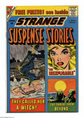 Silver Age (1956-1969):Horror, Strange Suspense Stories #44 Bethlehem pedigree (Charlton, 1959)Condition: NM-. A certificate of authenticity is included w...