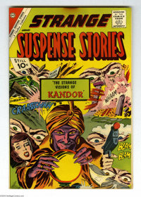 Strange Suspense Stories #57 Bethlehem pedigree (Charlton, 1961) Condition: VF/NM. A certificate of authenticity from th...