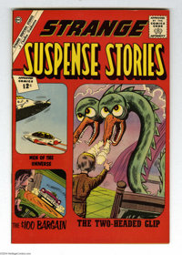 Strange Suspense Stories #60 Bethlehem pedigree (Charlton, 1962) Condition: NM-. Includes a certificate of authenticity...